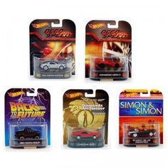 The Hot Wheels Entertainment Assortment features 1:64-scale die-cast cars based on those seen in popular movies and TV shows.