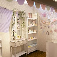 For a little girl's room? Cute!