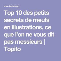 Top 10 des petits secrets de meufs en illustrations, ce que l'on ne vous dit pas messieurs   Topito