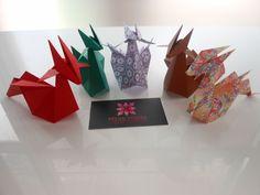 Dragon Origami Designed by Emilson Nunes dos Santos   meirehirata.com Follow me on Instagram: Meire Hirata Origami