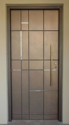 One thing that many people overlook when remodeling their home is their interior doors. Doors do more than offer privacy; they also offer another way to incorporate design elements into your home… Room Door Design, Door Design Interior, Wooden Door Design, Main Door Design, Interior Doors, Double Doors Interior, Double Front Entry Doors, Wood Entry Doors, Wood Exterior Door