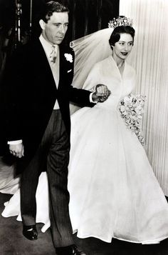 Anthony Armstrong-Jones and Princess Margaret's 1960 wedding