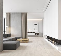Chic e moderno na medida por M3 Architectural & Construction Group // #Chic and #modern by #m3architecture www.inandoutdecor.com.br #inandoutdecor #sala #living