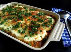 Oksekød i fad med kartoffel-låg og ost…
