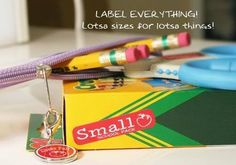 Label Daddy for Back to School! Use promo code: HAPPYCAMPER at checkout and SAVE 20%. They are laundry, dishwasher and microwave safe. Label Daddy is the number one solution for labeling your belongings! Remember to label all clothing, sports equipment and other personal belongings your kids bring to school, camp, sports leagues, day care, and other places.