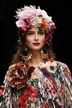 6dc8e4dd9e9b Dolce   Gabbana Spring 2019 Ready-to-Wear Fashion Show
