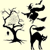spooky tree silhouette - Google Search