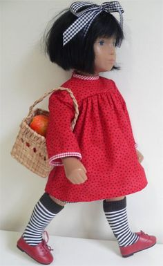 Socks made from baby socks! Market day outfit for Sasha doll, by chirnside on eBay