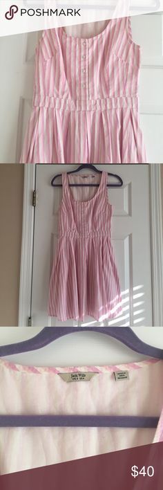 Jack Wills dress Super cute pink stripped dress from Jack Wills. Dress is made of 100% cotton so it feels crisp and stylish. Only worn a few times, in great condition! Jack Wills Dresses Mini
