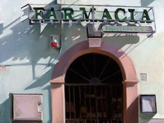 Farmacia, Civita by Connie Hayes