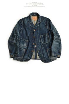 denim jacket  #jeans #blue #indigo #selvedge #menswear #mode #style #fashion