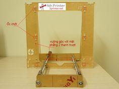 http://3printer.net/huong-dan-tu-lap-may-in-3d-gia-re-reprap-prusa-i3-phan-1.html Lắp trục X và khung máy Chào các bạn, bài trước chúng ta đã tập hợp đủ linh kiện để tự chế cho mình chiếc máy in 3D cá nhân Reprap Prusa i3 rồi nhỉ. Hôm nay mình sẽ hướng dẫn các bạn từ những linh kiện rời rạc, xây dựng thành một chiếc máy …