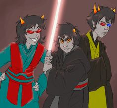 Image result for star wars homestuck