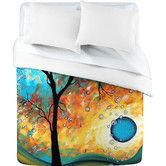 Found it at AllModern - DENY Designs Madart Inc. Aqua Burn Duvet Cover Collection