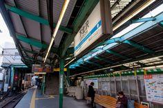 Jun Tendo 小田急電鉄下北沢駅ホーム下り線側_DSC3550
