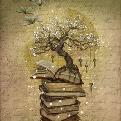 Knowledge is the key Art Print Pretty, love this