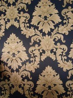 classico dutch behang vinyl blauw goud barok 26