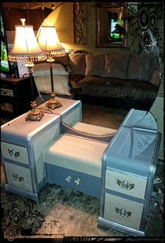 Revamped Antique vanity from L / W we deliver for a fee for Sale in Rancho Cucamonga, CA - OfferUp