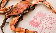 Groupon - Steamed Maryland Blue Crab, Jumbo Shrimp, and Other Seafood from Harbour House Crabs (Up to 42% Off). Groupon deal price: $35. Visit Groupon at http://www.robflorexplore.com/news-channel to find more great deals.