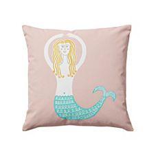 Wayne Pate Mermaid Pillow Cover // for Bird