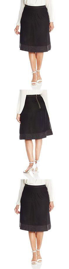 db1ef924424 Modamix Women s Plus-Size Mesh Skirt