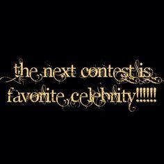 Next contest everybody!