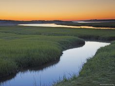 Sunrise over the marsh in Savannah, GA. It is the marshes that make me want to move to this area or the NC/SC coast.