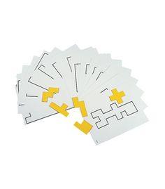 #CDWishList Pentomino Pattern Cards Manipulative - Carson Dellosa Publishing Education Supplies
