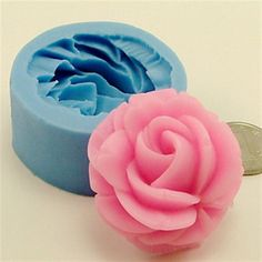 Bakeware+Silicone+Rose+Baking+Molds+for+Fondant+Candy+Chocolate+Cake+(Random+Colors)+–+USD+$+2.99