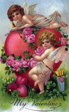 Vintage Valentines Day Victorian Angels Heart Rose Post Cards today price drop and special promotion. Get The best buyDiscount Deals Vintage Valentines Day Victorian Angels Heart Rose Post Cards lowest price Fast Shipping and save your money Now! Valentine Images, My Funny Valentine, Vintage Valentine Cards, Saint Valentine, Vintage Greeting Cards, Vintage Postcards, Valentine Picture, Valentine Hearts, Images Vintage