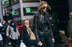 Just who is Gigi Hadid? A Baby Guess model from the age of two, Gigi has had a slow and steady rise to fame. However, it was when former VOGUE Paris editor-in-chief Carine Roitfeld put her on the cover of CR Fashion Book last year that the fashion crowd took notice. Now Gigi has walked for several major fashion shows includingJeremy Scott, Tom Ford and Anna Sui. #LOTD #gigihadid