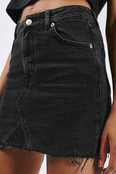 MOTO Highwaist Short Skirt