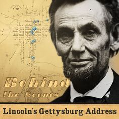 Behind the Scenes: Lincoln's Gettysburg Address, new website shows what Lincoln saw in 1863 Teaching Us History, Teaching American History, Study History, Mystery Of History, Gettysburg Address, Geography Lessons, American Story, Reading Activities, Social Science