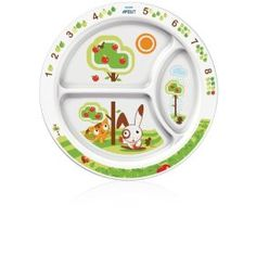 Philips AVENT BPA Free Toddler Divider Plate, 12+ Months 5.99 paid 3.00 - FREE with amazon gift card