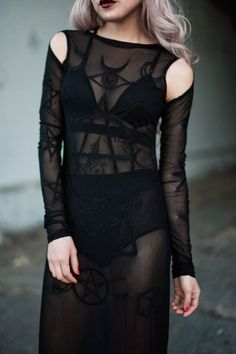 Witchey occult dress