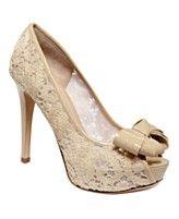 Joan and David Shoes, Cutie Peep Toe Platforms- Macys.com..... I love em!