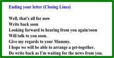 Заканчиваем письмо на английском одним из предложений