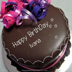 Happy birthday Ivana