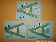 a is for alligator craft Letter A Crafts for Preschoolers