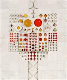Rut Bryk, Kaakelisommitelma (Mosaic composition) , ca. 1970–1975