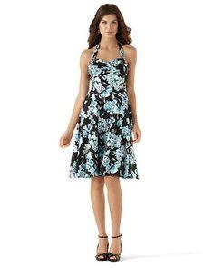I still still still still... WANT THIS DRESS SO BAD!!!! White House   Black Market Summer Bouquet Sundress #whbm