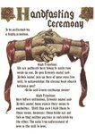 Hadnfasting Ceremony by Allen92909
