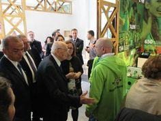 #Napolitano in visita ad #Expo2015 #CascinaTriulza #Anteas  #ricreiamoinsieme
