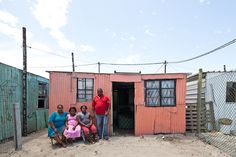 Urban-Think Tank develops housing prototype for South African slums Social Housing, Slums, African Art, Home Projects, South Africa, Portrait Photography, Shed, The Unit, Outdoor Structures