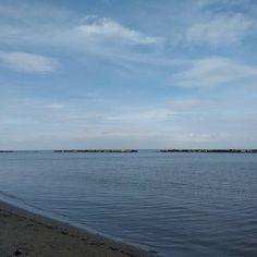 Primo mare della stagione #sea #seaside #turismoER by moonlightsarina