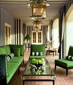 Why not? Black, White & Emerald Green .. Classic Design. Repost @vicentemustra