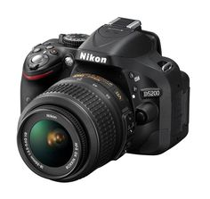 DSLR D5200 by Nikon. The Nikon D5200 is a digital SLR camera that is designed to meet the desires of your creativity. Discover a new perspective with an ultra-high-resolution vari-angle screen that you can rotate to different positions. Snap stunning images via DX-format CMOS sensor resolution of 24.1 megapixels and share directly through WU-1a Wireless Adapter. Optimized for creativity and efficient for flexibility, Nikon D5200 digital SLR camera can be an option for you lovers of ...