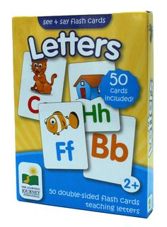 Little scholars will master skill sets with these handy flash cards that give skill-building practice at lust the right level.  This double sided card set features 50 cards that help kids learn about