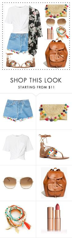 """""""strike a pose coachella"""" by neelakshi-choudhury on Polyvore featuring Forte Couture, T By Alexander Wang, Vince Camuto, Chloé, Madewell, Red Camel and M&Co"""