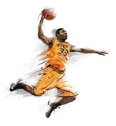 NCAA Hoops on Behance